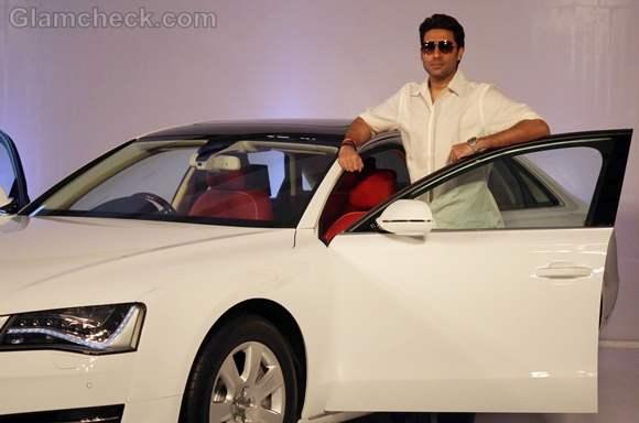 Abhishek Bachchan Unveils Audi A8 L in Mumbai