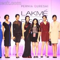 Amy Jackson for Pernia Qureshi at LFW Winter-Festive 2012