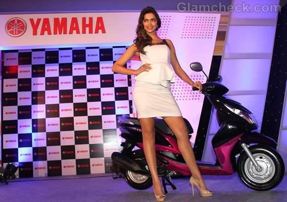 Deepika Padukone Face New Yamaha Scooter India