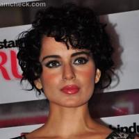 Kangana Ranaut curly bob hair