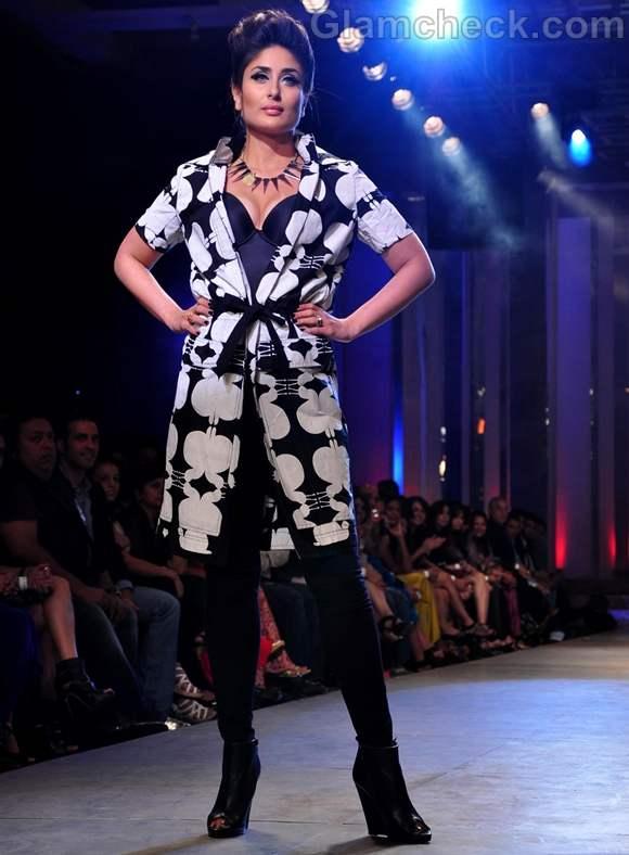 Kareena Kapoor Kallol Datta Lakme Fashion Week