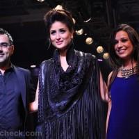 Kareena Kapoor pankaj-nidhi-show lakme fashion week