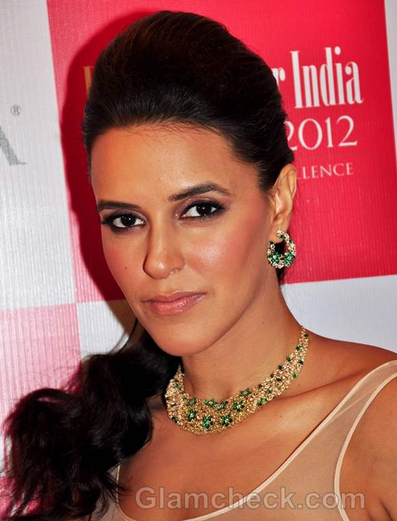 Neha Dhupia Sultry Makeup