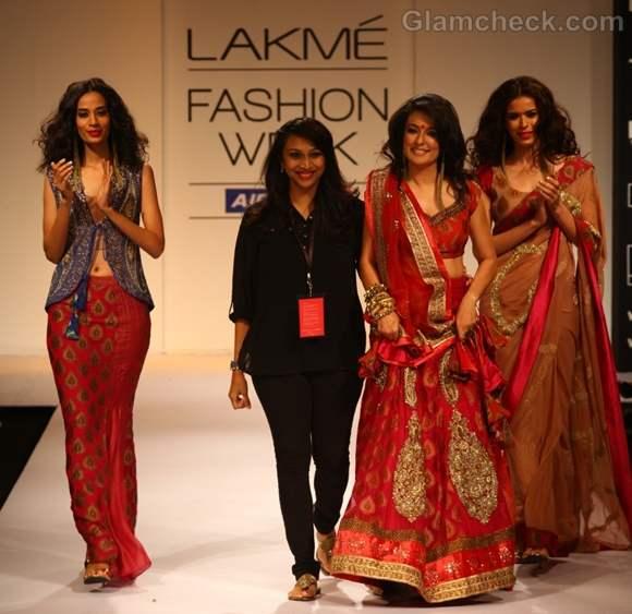 Payal Kapoor-mini-mathur-LFW Winter Festive