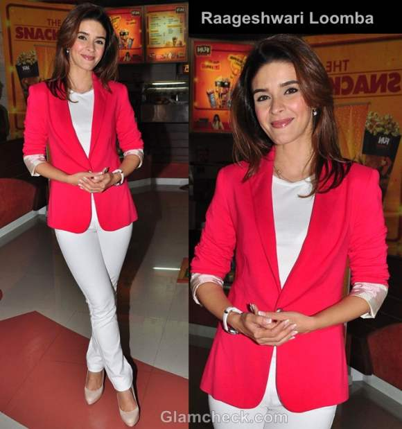 Raageshwari loomba loves her blazers latest fashion trends 2017 androgynous look