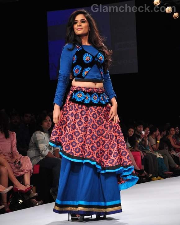 Richa Chadda Debarun Mukherjee lakme fashion week winter 2012