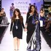 Sameera Reddy for Archana Kochhar Collection at Lakme Fashion Week Winter-Festive 2012