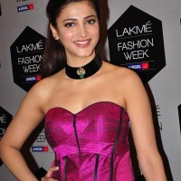 Shruthi Hassan at Neeta Lulla Fashion Show