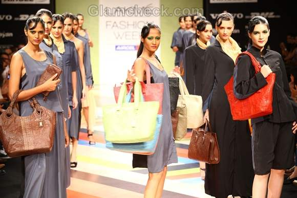 VEEV Second Skin Collection Bags LFW Winter-Festive 2012