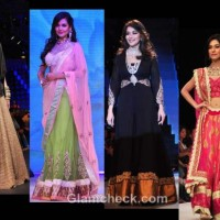 celeb showstoppers at india international jewellery week