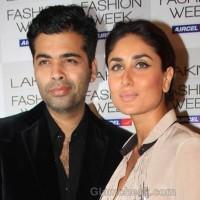 kareena kapoor karan johar lakme fashion week