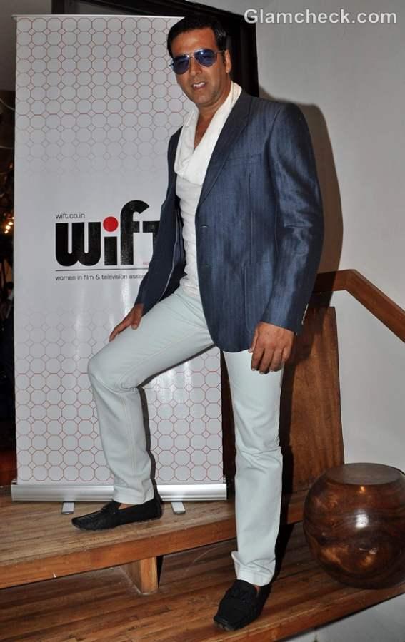 Akshay Kumar attends WIFT Workshop in Mumbai