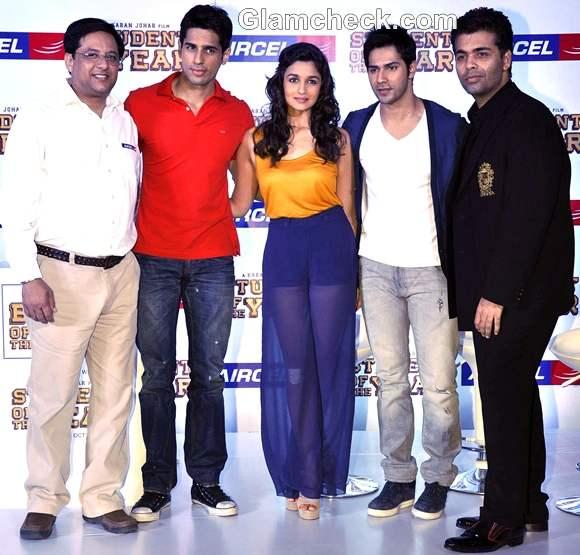 Alia Bhatt promotes Student of the Year at Taj hotel