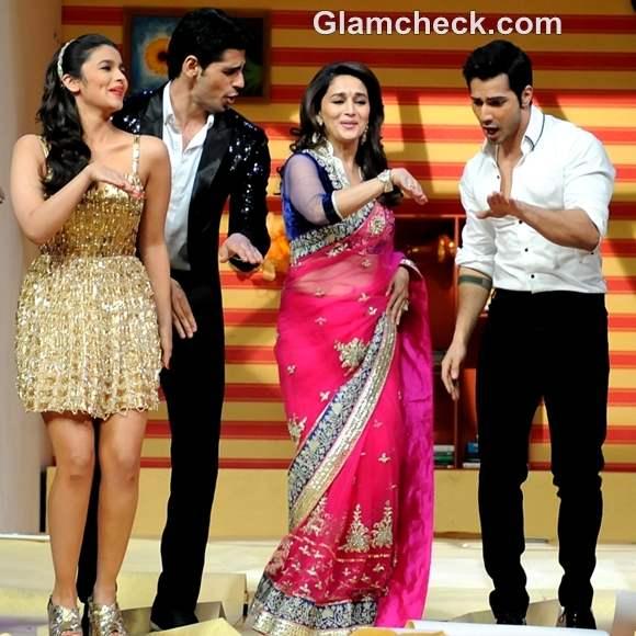 Alia Bhatt promotes student of the year Jhalak dikhla jaa
