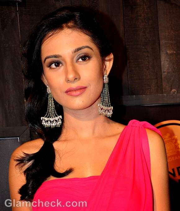 Amrita Rao Gives Red Carpet A Boost Of Color In Hot Pink Dress