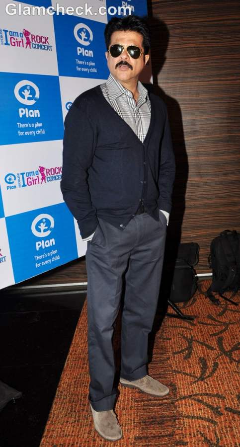 Anil Kapoor Because I am a Girl Rock Concert launch