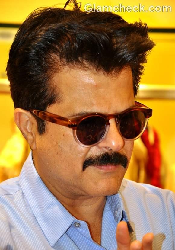 Anil Kapoor at The Yogi launch at Aza store Juhu Mumbai