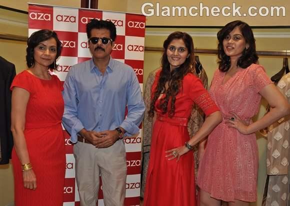 Anil Kapoor at The Yogi launch at Aza store in Juhu Mumbai