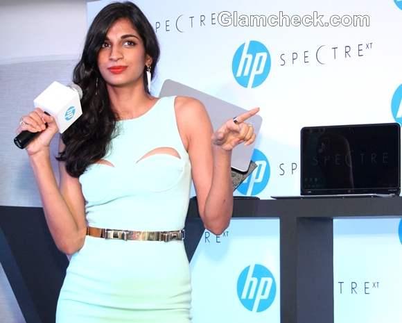 Anushka Manchanda at Launch of HP Ultra book Spectre