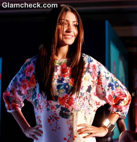 Anushka Sharma dress launch of joy cosmetics