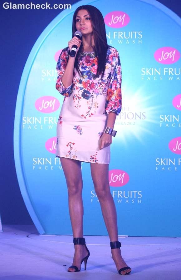 Anushka Sharma launch of joy cosmetics
