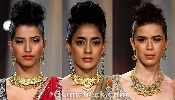 Azva Jewellery Collection India Bridal Fashion Week 2012
