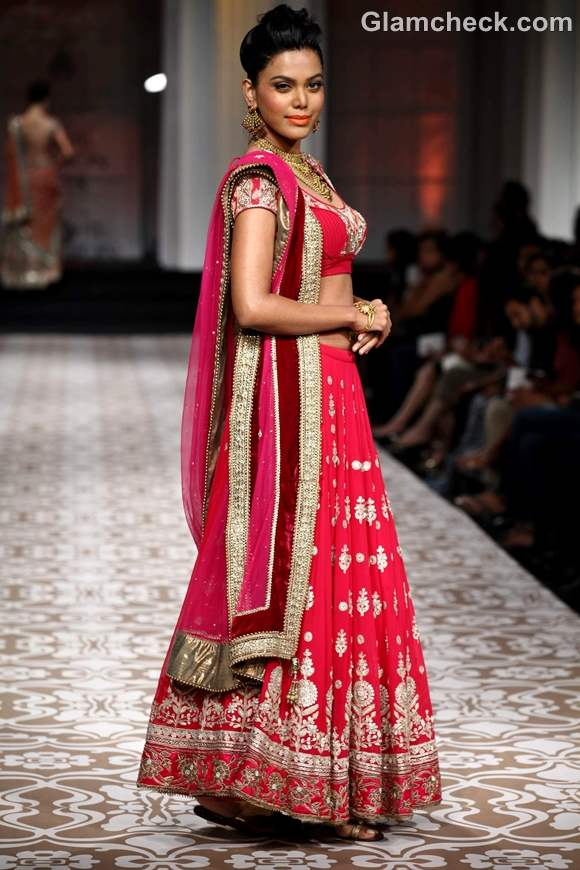 Azva Jewelry collection at India Bridal Fashion Week 2012