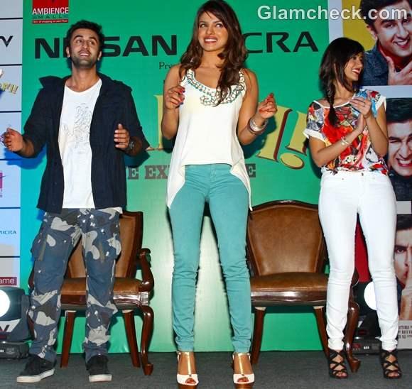 Barfi stars promoting movie