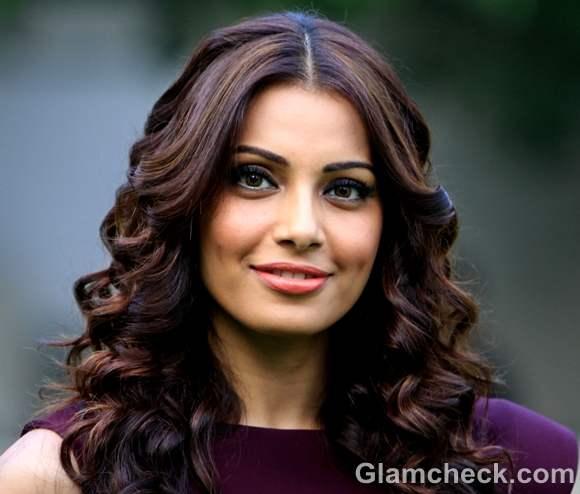 Bipasha Basu curly hair