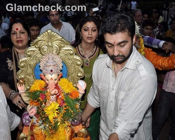 Bollywood Celebs Ganpati Visarjan 2012-2