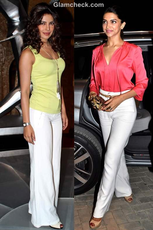 Bollywood style inspiration wearing wide legged pants
