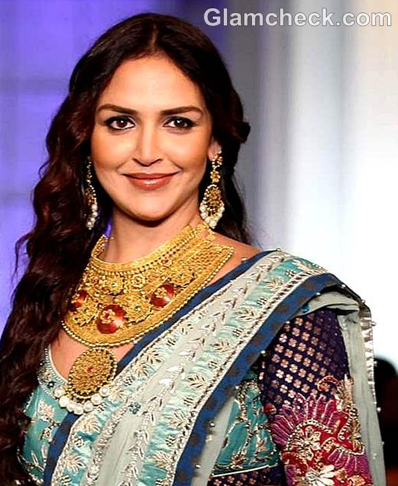 Esha deol Azva India Bridal Fashion Week 2012