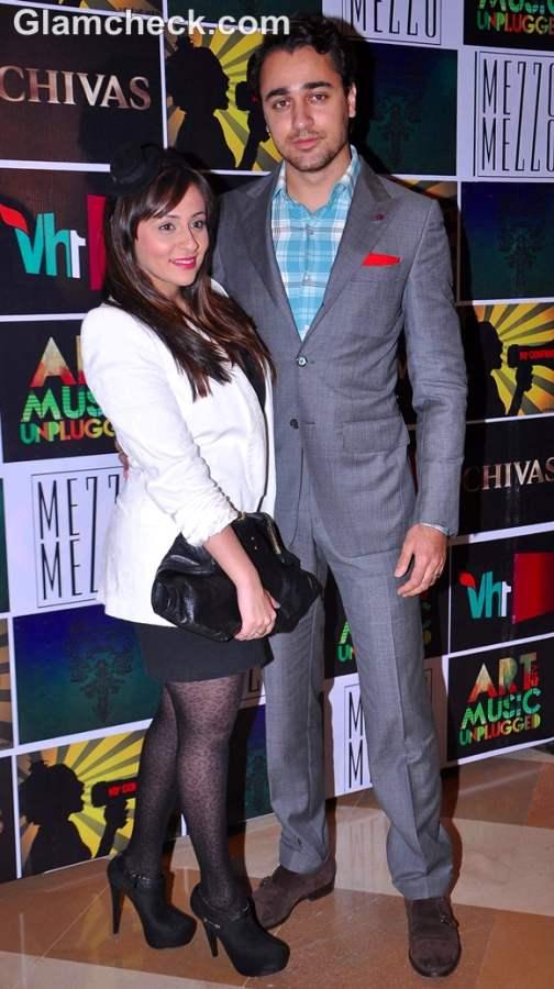 Imran Khan with wife Avantika