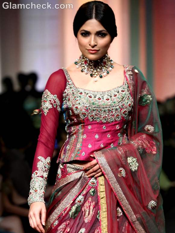 India Bridal Fashion Week 2012 Ashima-Leena-4