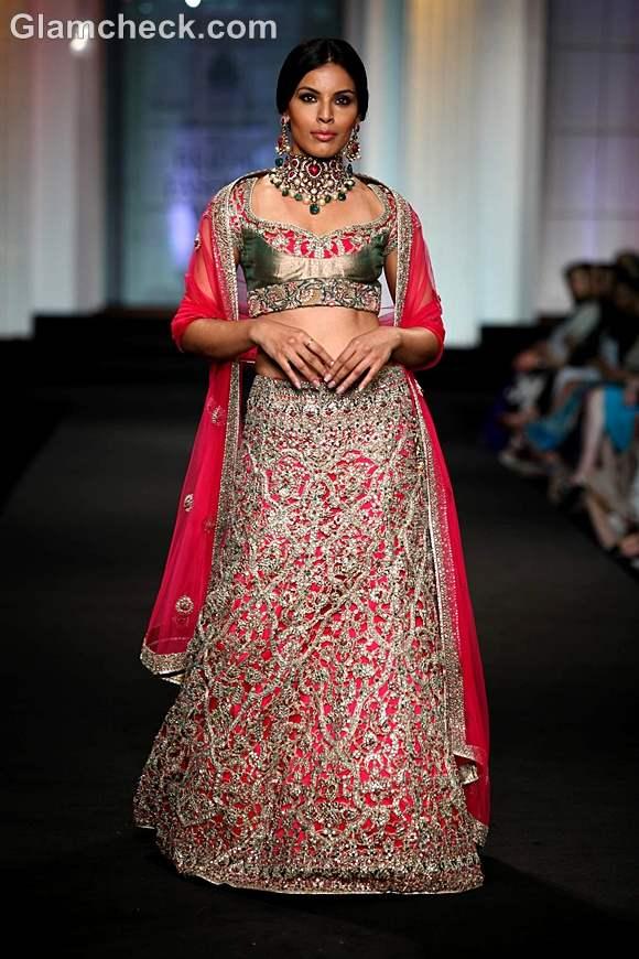India Bridal Fashion Week 2012 Ashima-Leena