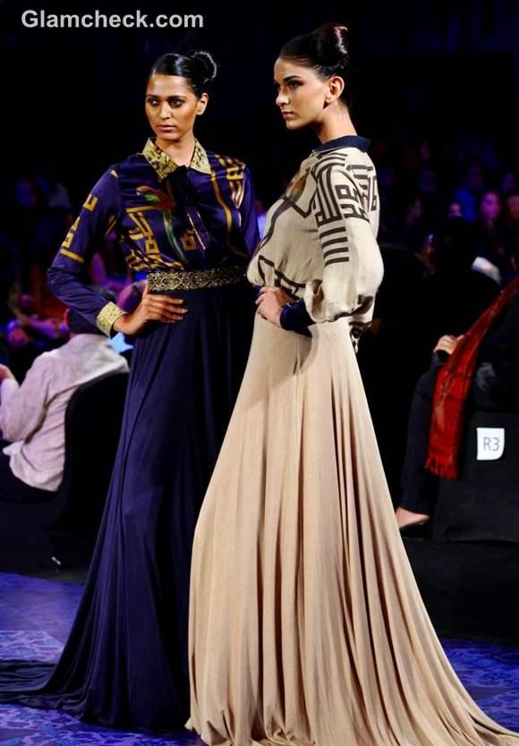 JJ Valaya aamby valley india bridal fashion week 2012