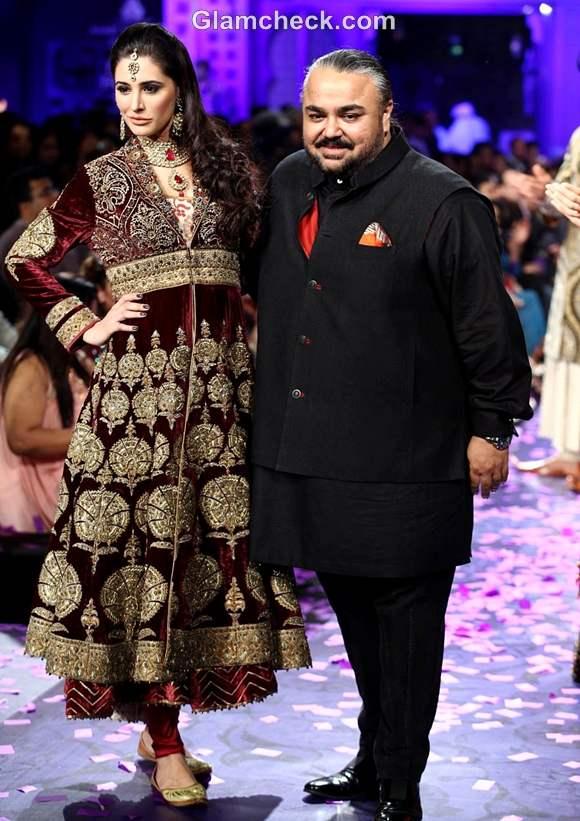 JJ Valaya grand finale india bridal fashion week 2012