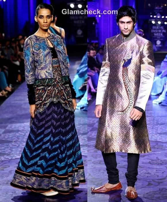 JJ Valaya grand finale show india bridal fashion week 2012