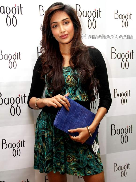 Jiah Khan for baggit bags autumn 2012 collection