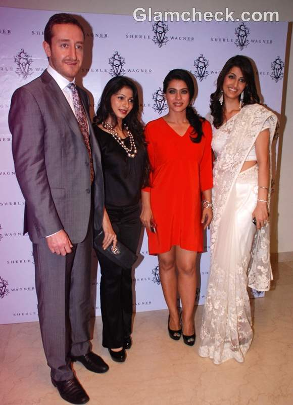 Kajol at launch of Sherle Wagner Store