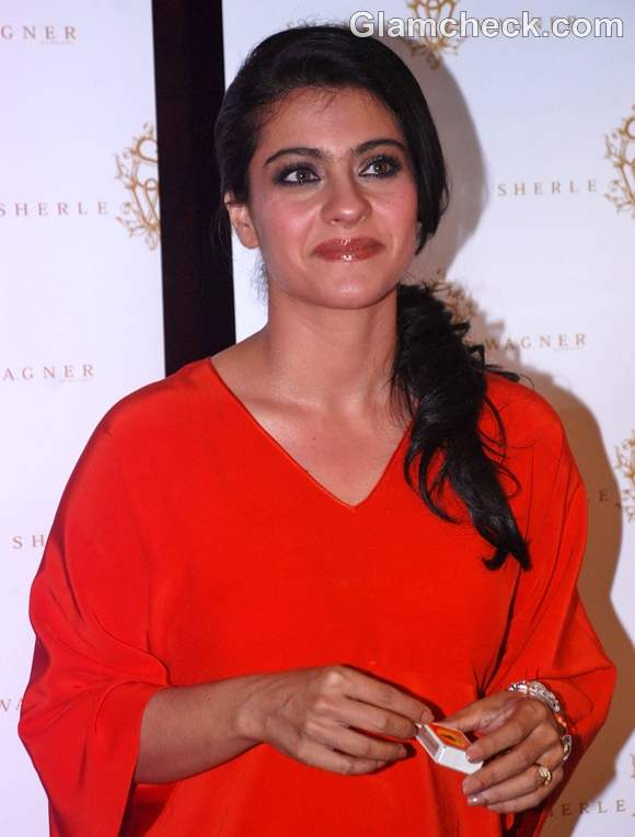Kajol at the launch of Sherle Wagner Store