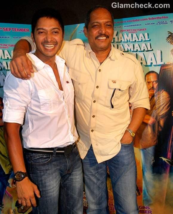 Kamaal Dhamaal Malamaal cast Nana Patekar Shreyas Talpade