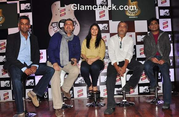 AR Rehman At MTV unplugged Launch - video dailymotion