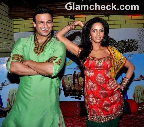 Mallika Sherawat Vivek Oberoi promote KLPD Pritam Da Dhaba