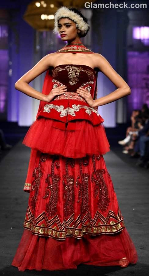 Narendra Kumar Ahmed India Bridal Fashion Week 2012-2