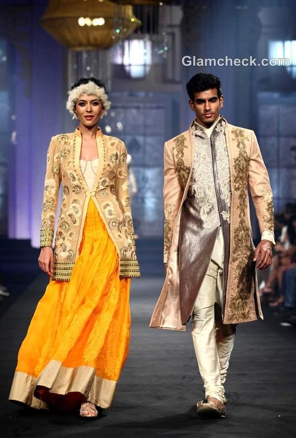 Narendra Kumar Ahmed India Bridal Fashion Week 2012-3