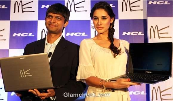 Nargis Fakhri Launches New HCL Ultrabook