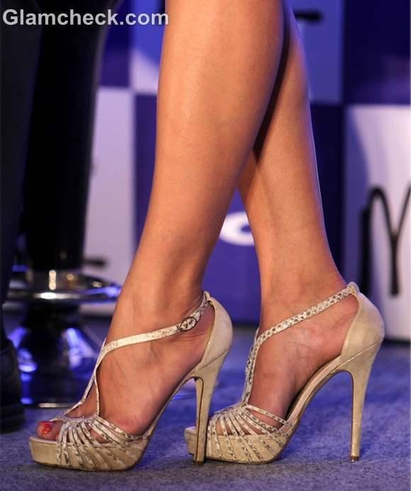 Nargis Fakhri heels