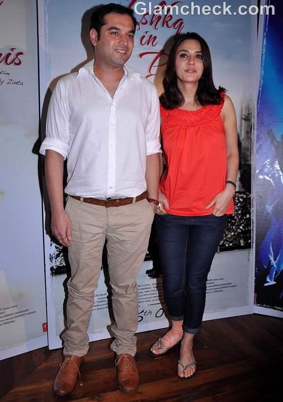 Preeti Zinta production debut ishq in paris