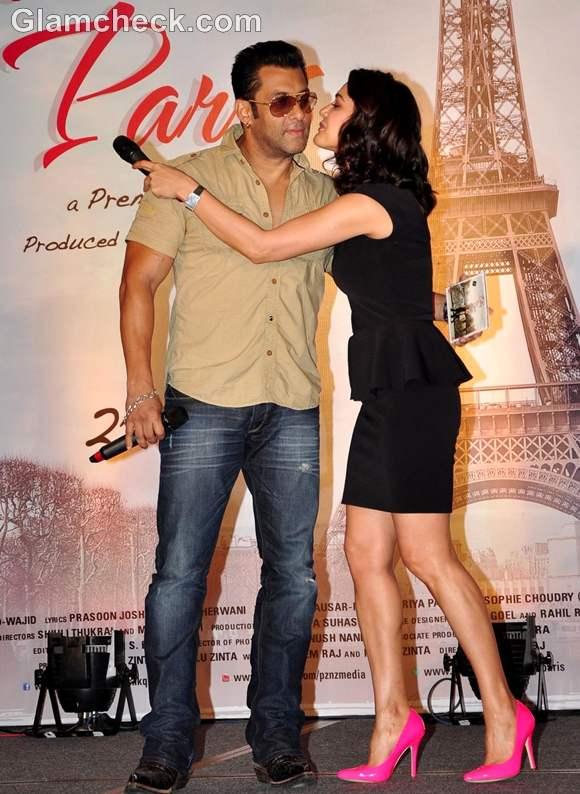 Preity Zinta salman khan Ishkq in Paris soundtrack release